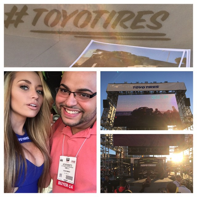 SEMA SHOW 2014 | Stop by and check out the Toyo Tires outside exhibit it's awesome!!!! #ToyoSelfie #toyotires #toyotirestreadpass #SEMA #SEMA2014 #sematrucks #offroadupgrades