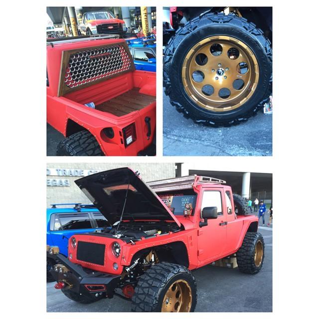 Custom Jeep | SEMA SHOW 2014 #offroadupgrades #nittotires #forgiato #SEMA #SEMA2014 #semashow #semajeeps #wemadeit