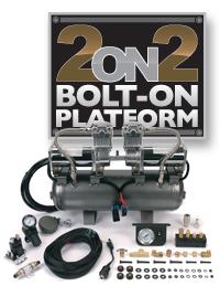 VIAIR2 on 2 Bolt-On Platforms