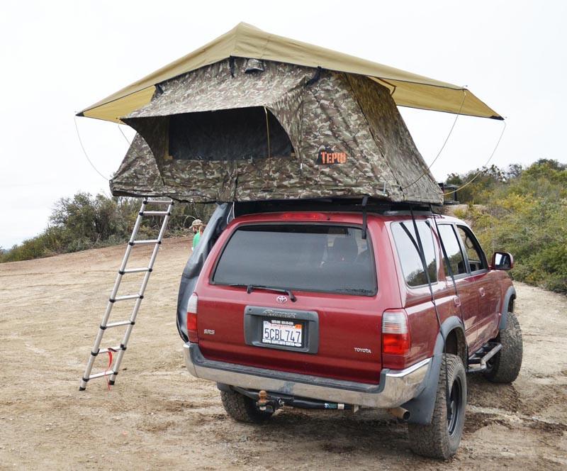 Tepui Tents Kukenam Camo Roof Top Tent & Tepui Tents Products - Tepui Tents Kukenam Camo Roof Top Tent ...