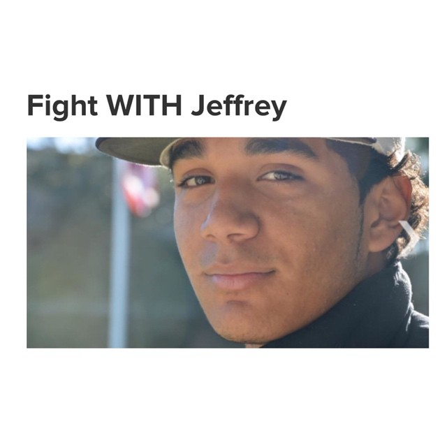 "Please take a moment of your time and go to my bio and visit the link. This is a GiveForward campaign for Jeffrey. Just last year he was playing baseball, attending college, no doubt he would have been recruited to the major leagues. Today he is in a hospital battling stage 4 cancer.  If you can please share, repost, contribute anything will help. You can donate to the fundraiser and give words of encouragement in the form of a ""Hug"". Thank You for your support. Together we can help Jeffrey reach that goal! #offroadupgrades #jeffrey #giveforward #keepfighting #staystrong #fightwithjeffrey"