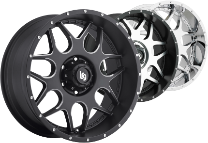 LRG Rims - Large Rim Group OffRoad Truck Wheels