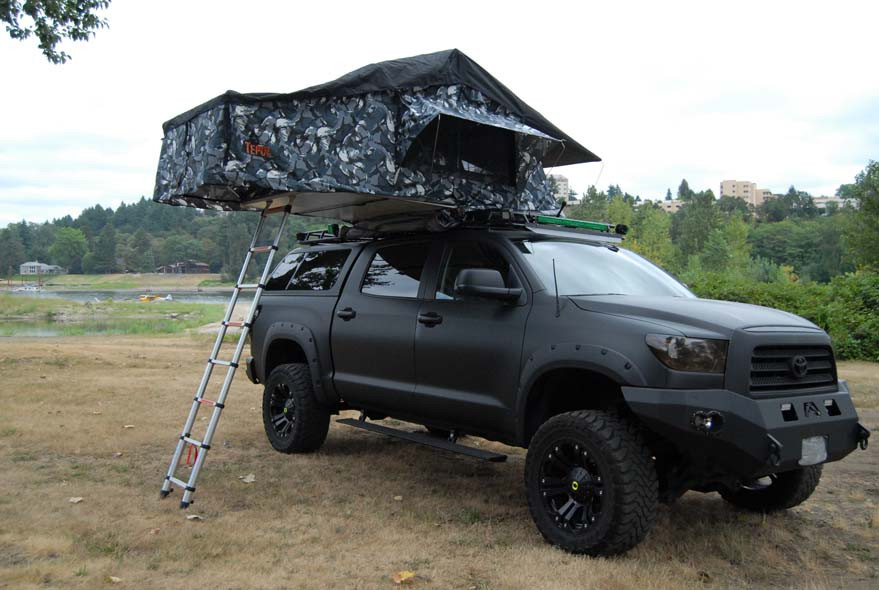 Tepui Tents Products - Tepui Gran Sabana Siberian Camo Roof Top Tent u2014 OffRoad Upgrades & Tepui Tents Products - Tepui Gran Sabana Siberian Camo Roof Top ...
