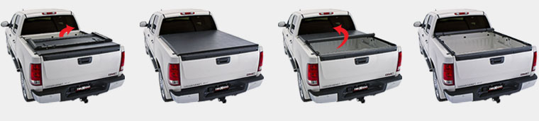 TruXedo Deuce Tonneau Cover Operation Flip it or Roll it Up...