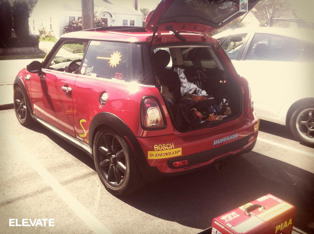 Stunt driver car #1.