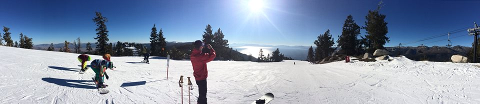 View of Lake Tahoe from Diamond Peak.
