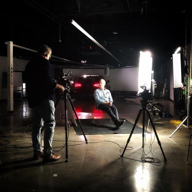 Shooting interviews about autonomous car #tech with some engineers in Mountain View w/ @filmcampfilms. 🎥 🚙 . . . #canon #c100mkii #autonomouscars #siliconvalley #videoproduction #lensprotogo #arri #kinoflo #corporateinterviews #sandisk #canonlog #audi #dji #filmmaking #cinemacamera #woodencamera #gh5s #sigmaphoto #chimera #autonomouscar #drivingsimulator #sachtler #zoomf4 #benro #rode #skypanel #arril7 #lumix #djironin