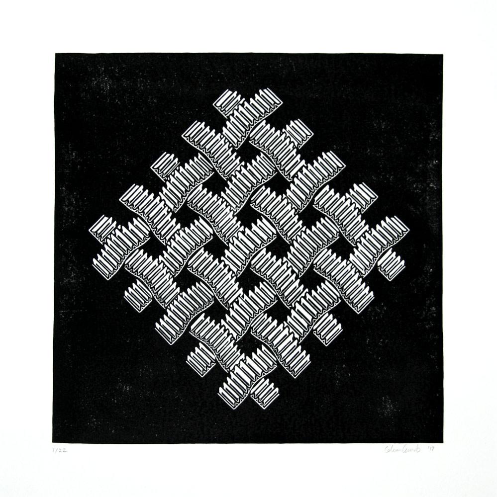 Corrugated Cardboard Lattice