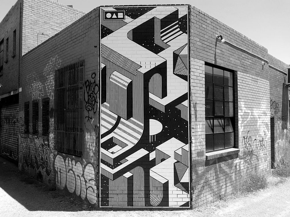 Irregular Reflections Mural