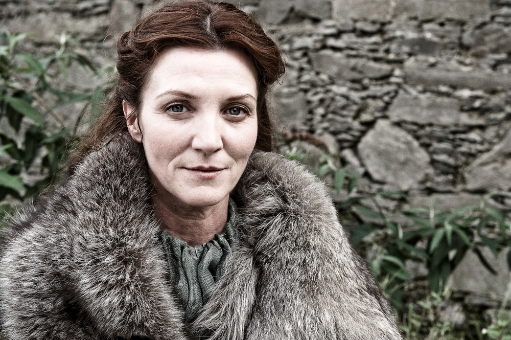 Catelyn Stark in fur