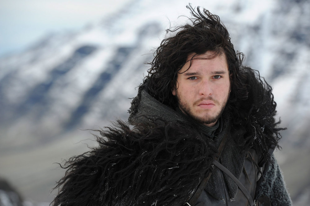 Jon Snow's fur