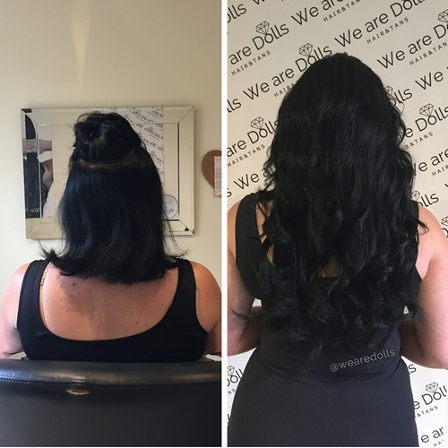 Before after best hair extensions melbourne russian hair weave hair extensions for thick hairg pmusecretfo Choice Image