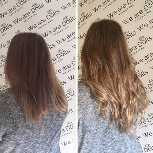 Before after best hair extensions melbourne russian hair secret veil hair extensions before and afterg pmusecretfo Image collections