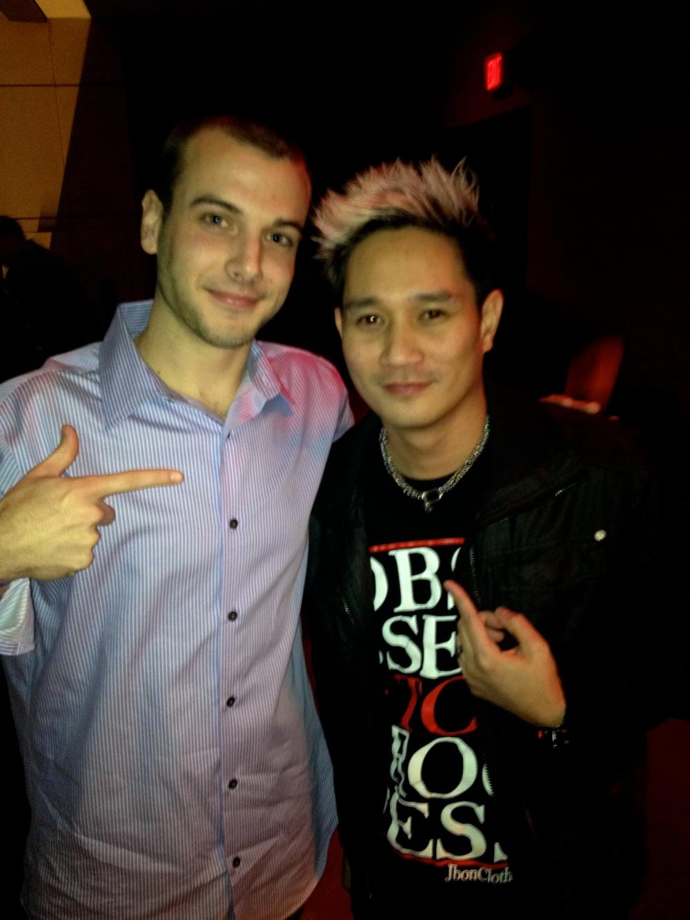 With @DJSerafin