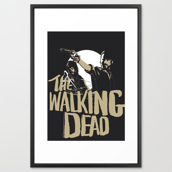 The_Walking_Dead_Framed