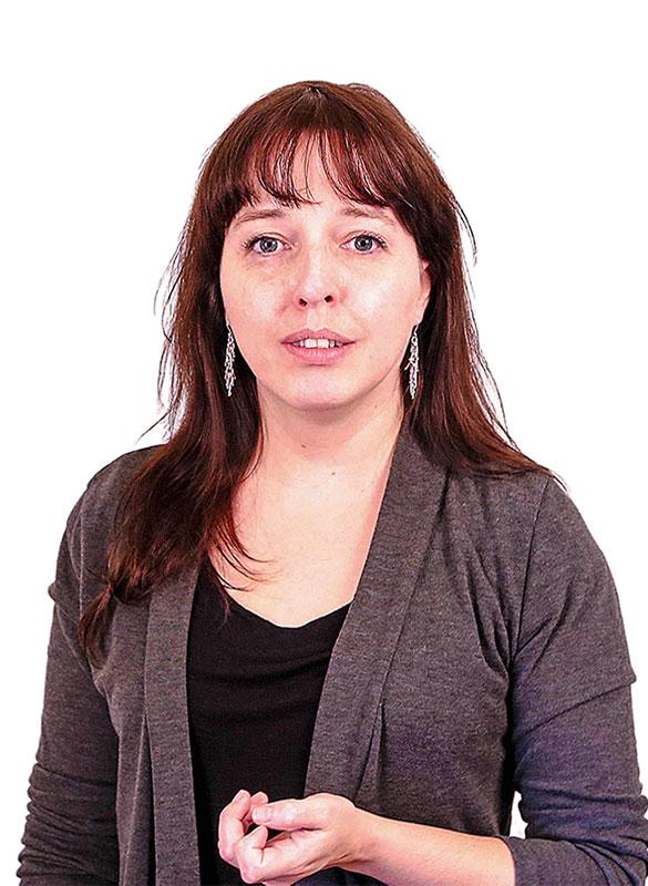 Marie-Ève Pominville Deployment activities coordinator