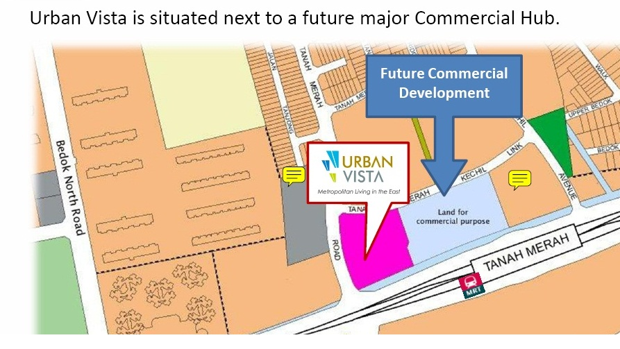 Upcoming Commercial Development next to Urban Vista makes it a promising investment