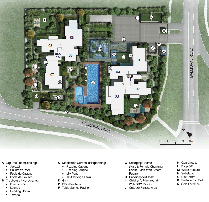 One Balmoral Site Plan