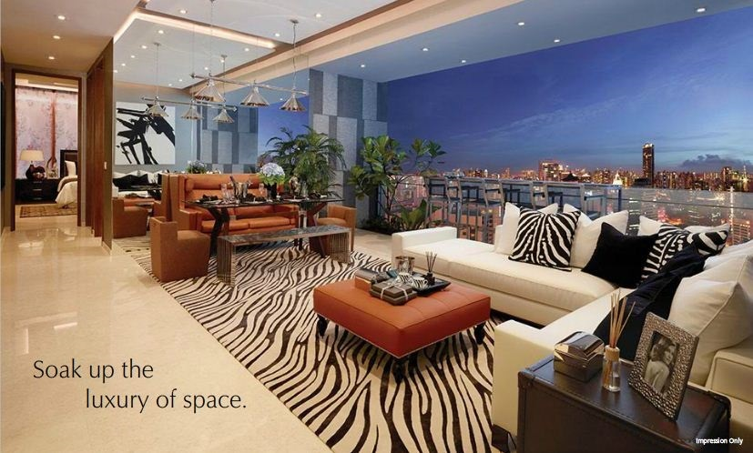 Loving the space and luxury of the apartment