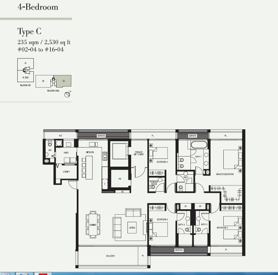 4 Bedroom Type C