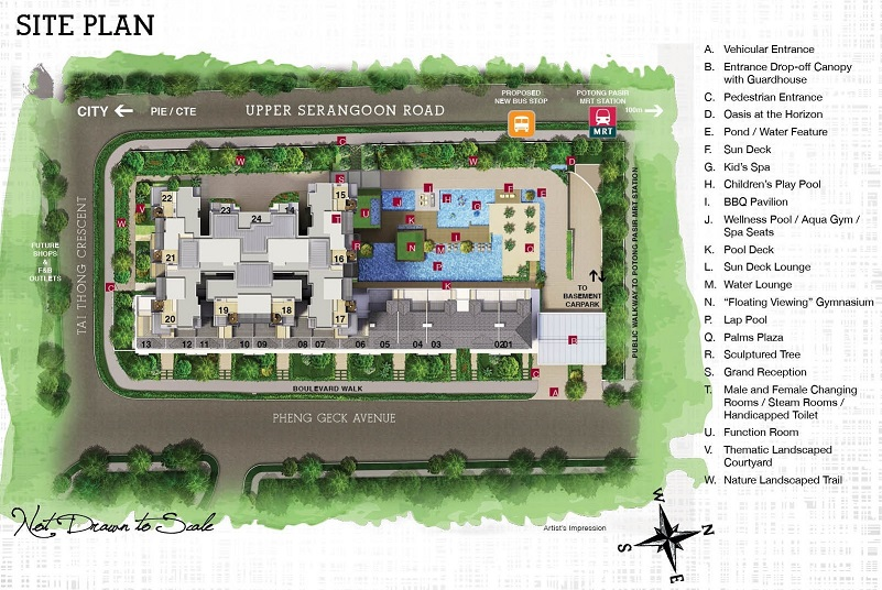 Sant Ritz Site Plan