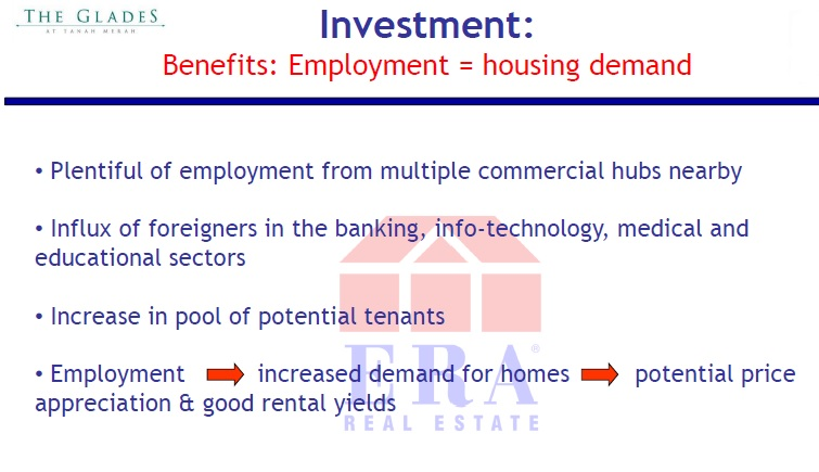 Employment and housing demand relationship