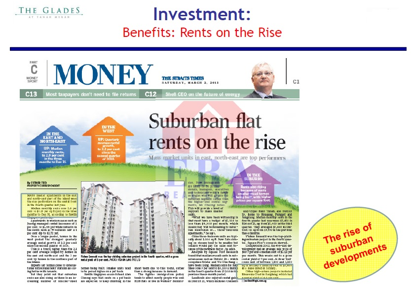 Money Talk - Appreciating rents
