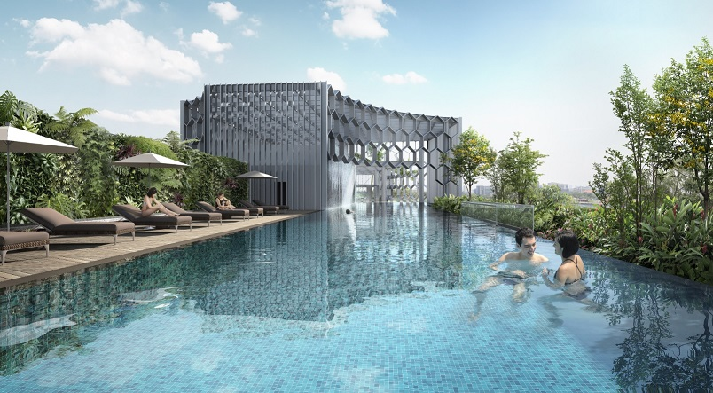 Duo Residence Pool