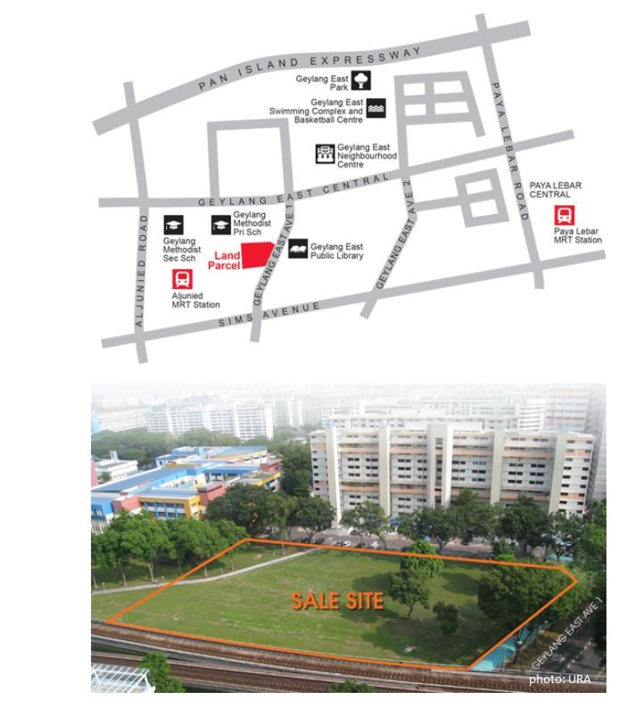 URA Land Parcel - Geylang East