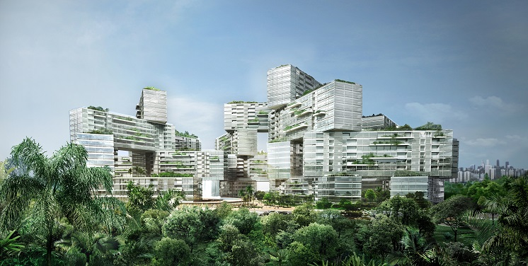 CapitaLand's The Interlace