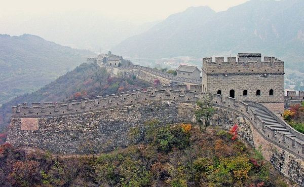 Great Wall of China by  Dennis Jarvis