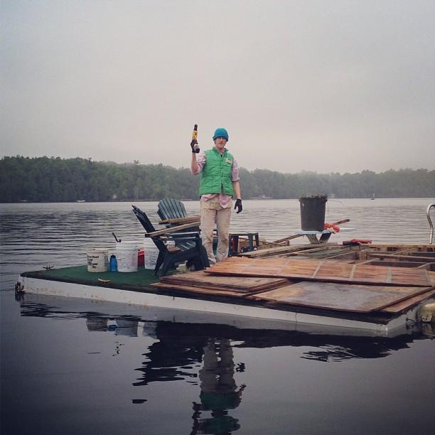 Raft foreman
