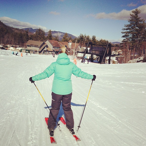Spring skiing afternoons. So good. @amanderoffact
