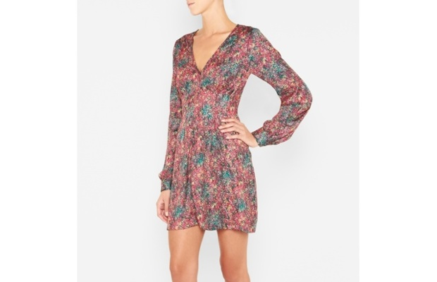 BCBGENERATION FIT-AND-FLARE DRESS