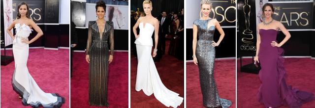 2013 Oscar Best Dressed