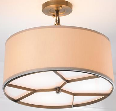 Modern Matrix Ceiling Light