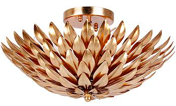 Crystorama Broche  - This is the light have planned to replace the current fixture in our living room!