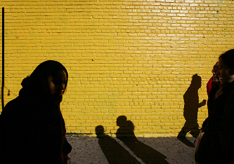 Yellow Wall   Copyright 2005 Nicole Bengivino
