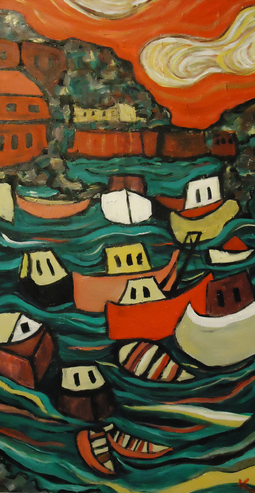 The Harbor at Nice, France , Katie Jurkiewicz, own it now, $420  on etsy