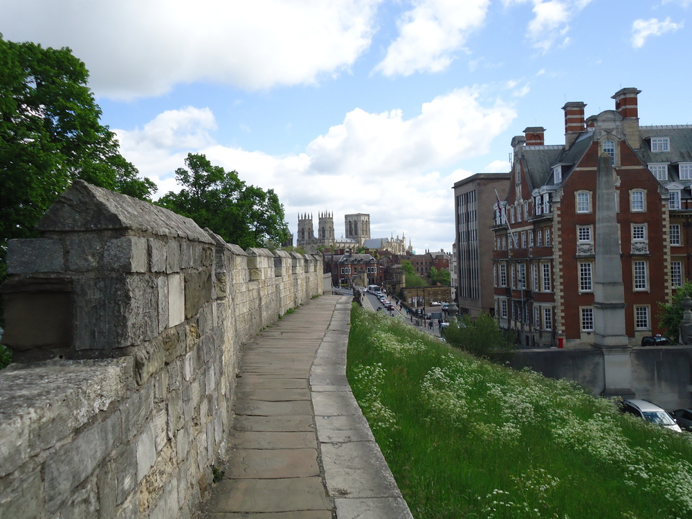 york city walls england