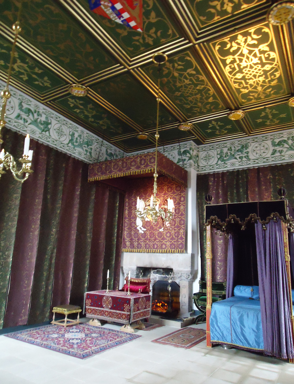 Stirling Castle interior