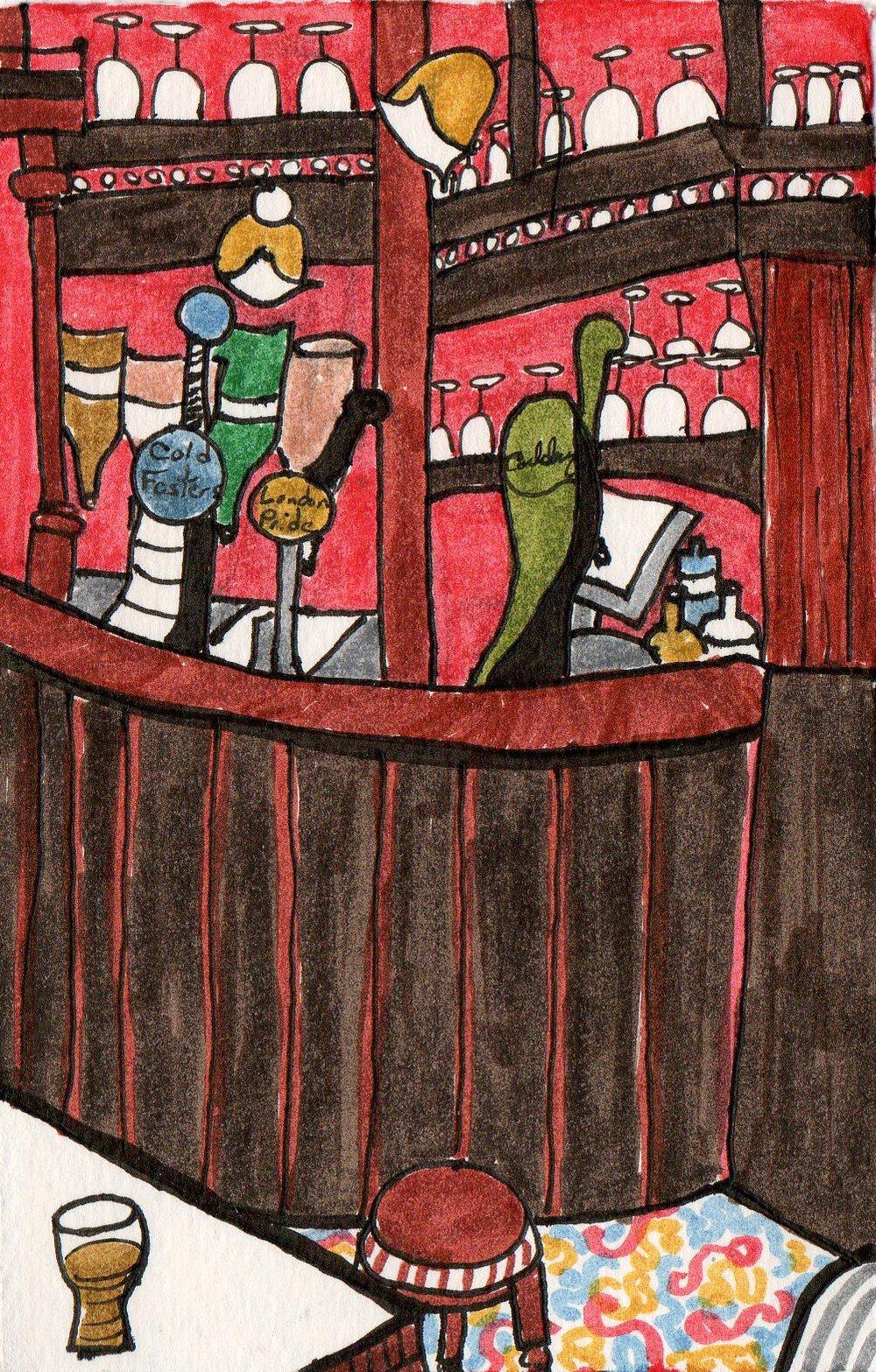 the crown pub london