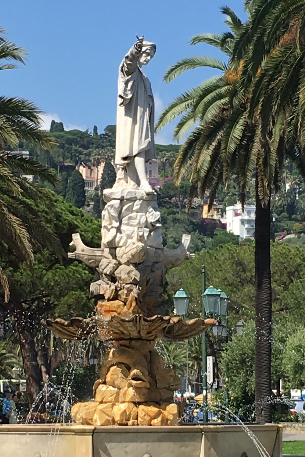 statue in Santa Margherita Ligure, Italy
