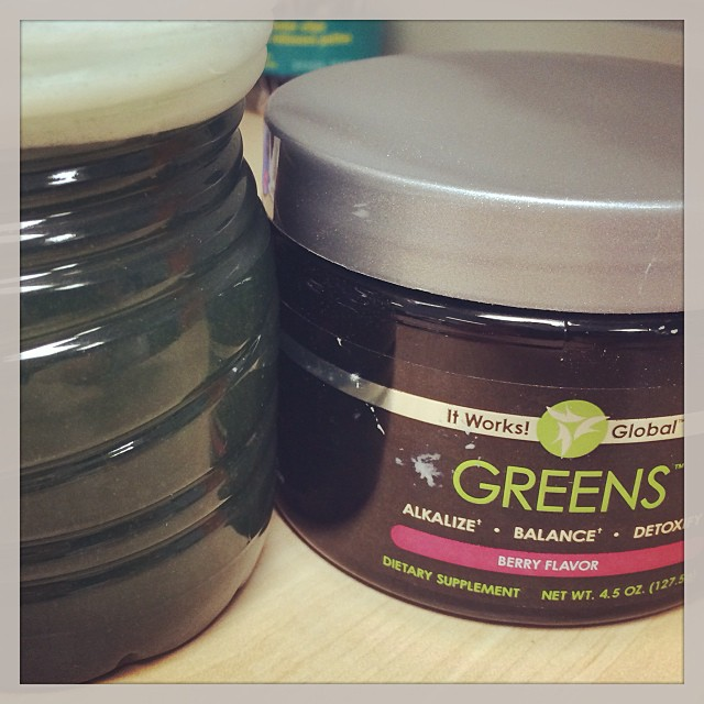 1 serving of Greens packed full of fruits, vegetables, herbs and superfoods otherwise known as a serving of healing