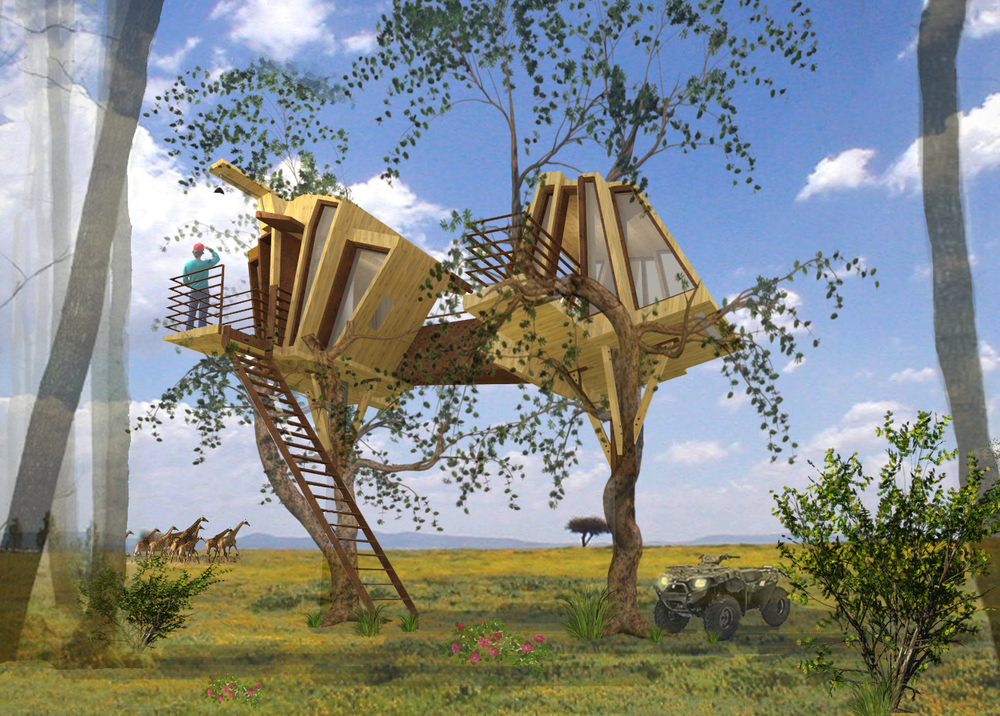 African Treehouse   madagascar   africa