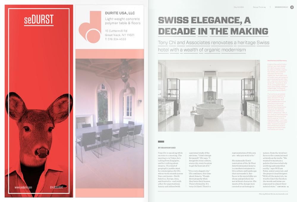 Design Bureau Magazine seDURST