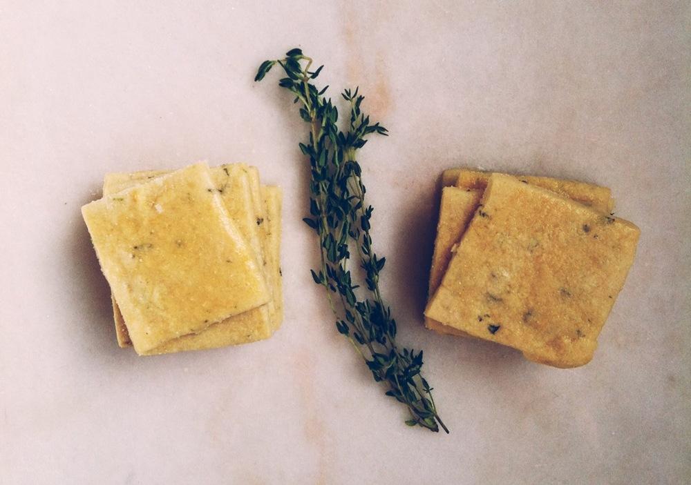 Lemon Lime Thyme Cookies