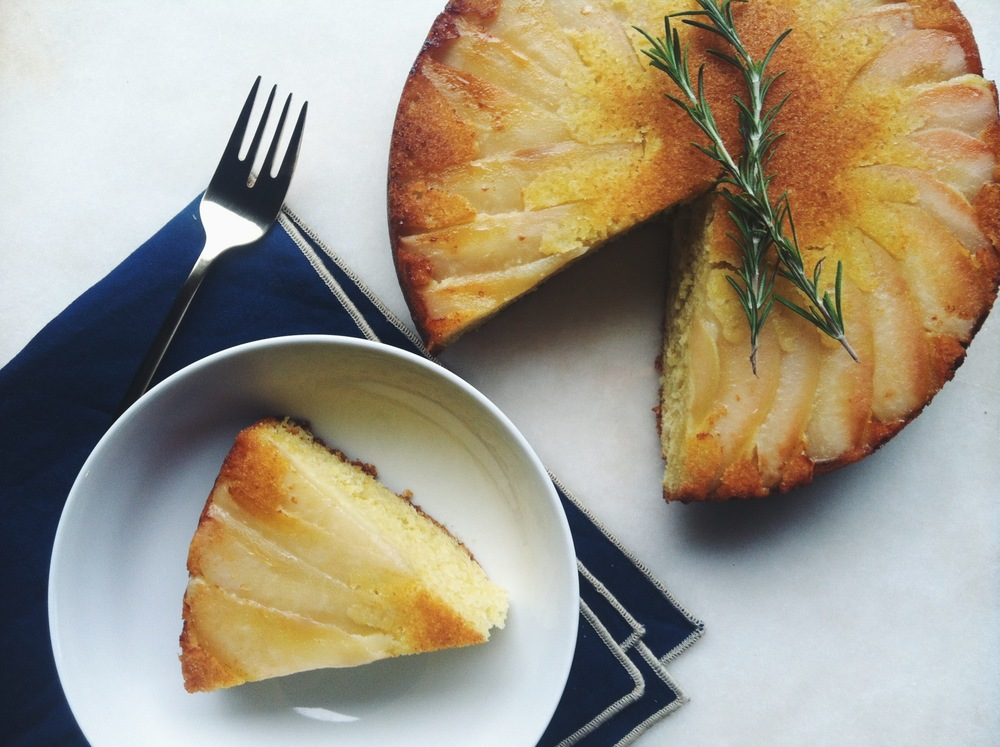 TFC upside pear cake3.JPG