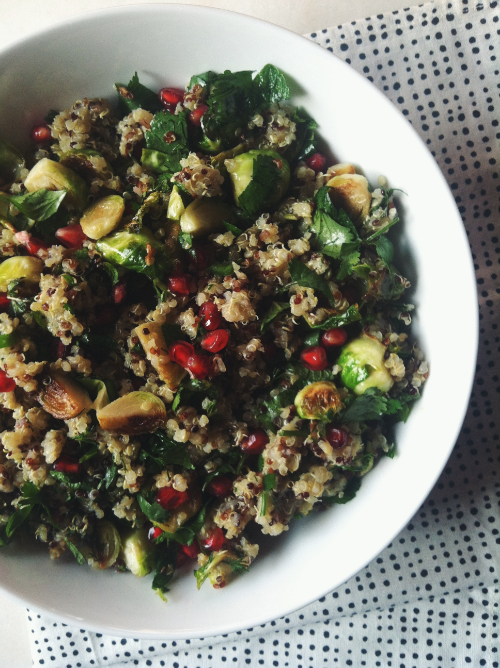 TFC Pomegranate & Brussel Sprout Salad 3.JPG