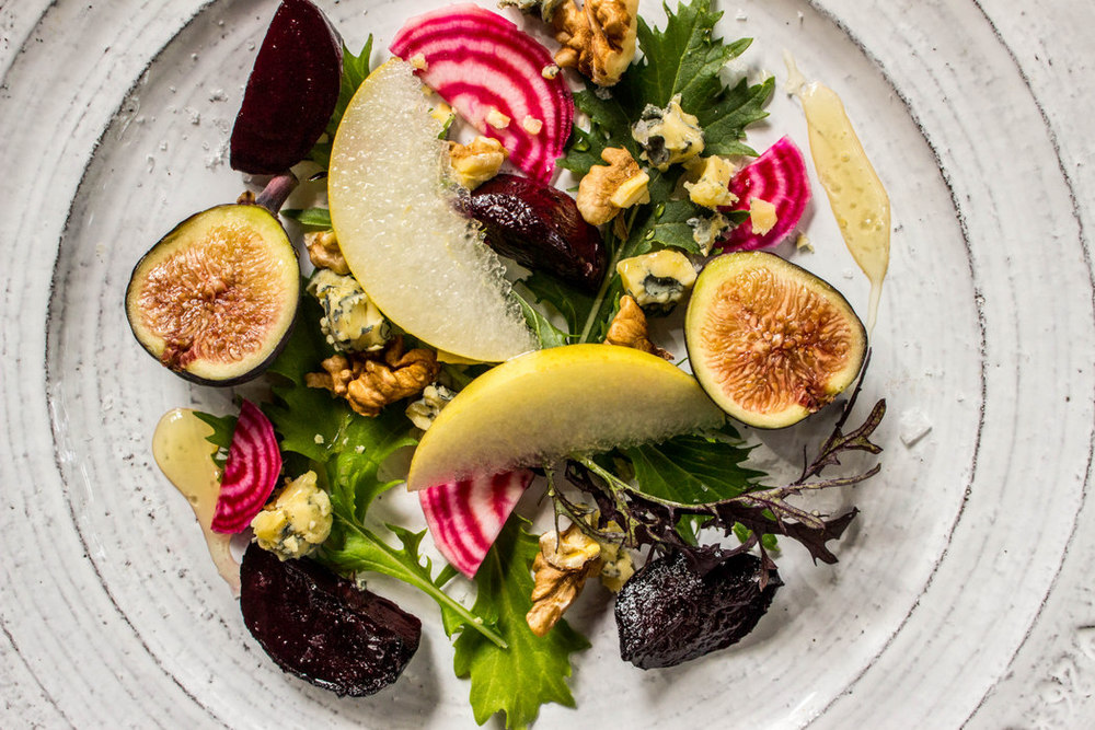 Asian Pear Salad with Roasted Beets + Figs — Local Haven